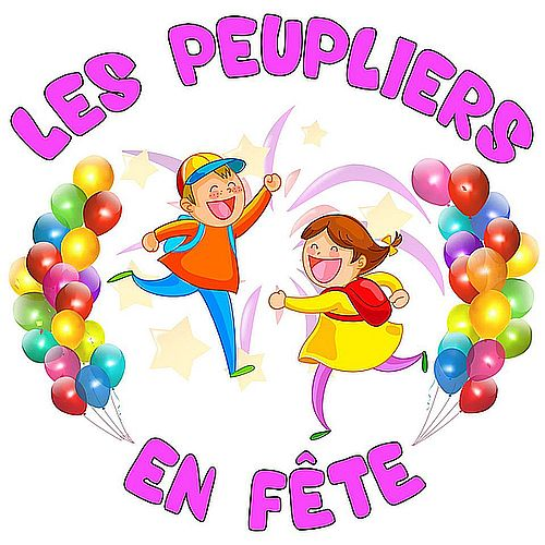 "logo de l'association ""Peupliers en fête"""