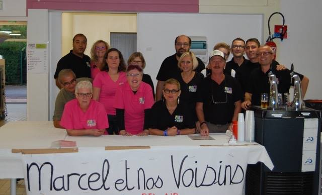 Photo de groupe de l'association